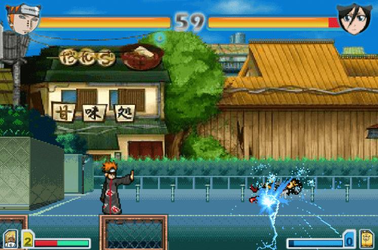 Hình ảnh chiến đấu trong Naruto 2.6