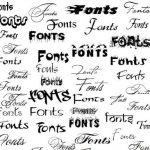 các loại Font chữ