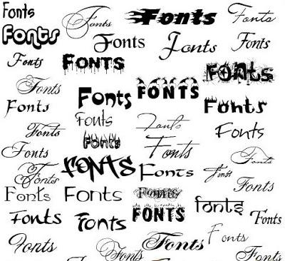 các font chữ có trên thế giới