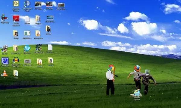 Loạt hình nền máy tính bá đạo nhất