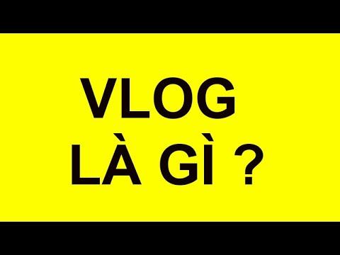 Vlog là gì?