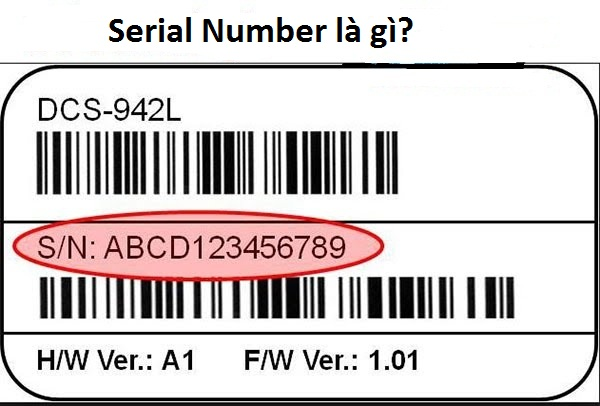 Serial Number là gì?
