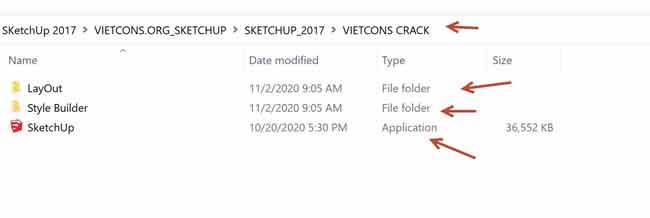 Copy tất cả các file trong thư mục crack