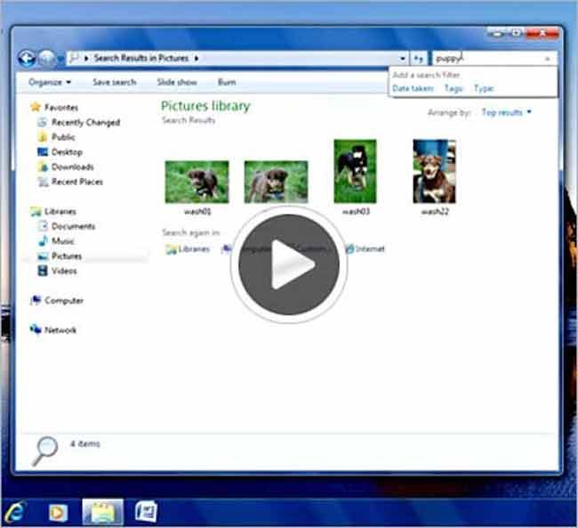 Windows Libraries - Thư viện số