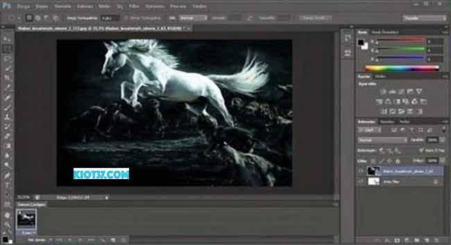 Chức năng chính có trong photoshop cs6 crack