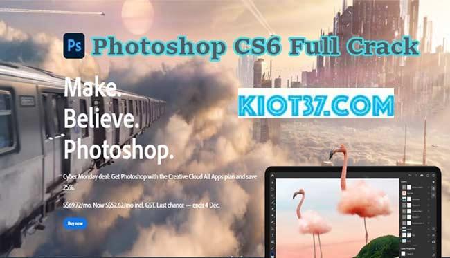 Photoshop CS6 Full Crack Vinh-Vien