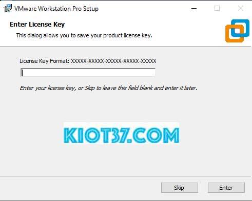 Nhấn Enter để kết thúc quá trình cài đặt.