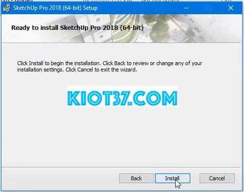 Click vào Install để hệ thống tiến hành cài đặt phần mềm