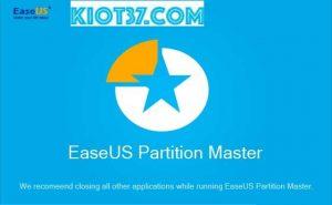 Share list Key Easeus Partition Master đầy đủ nhất
